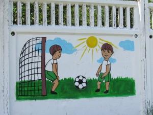 конкурс рисунков на заборе4