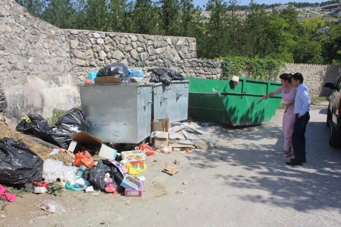 Мусорная свалка возле Ханского дворца в Бахчисарае будет ликвидирована