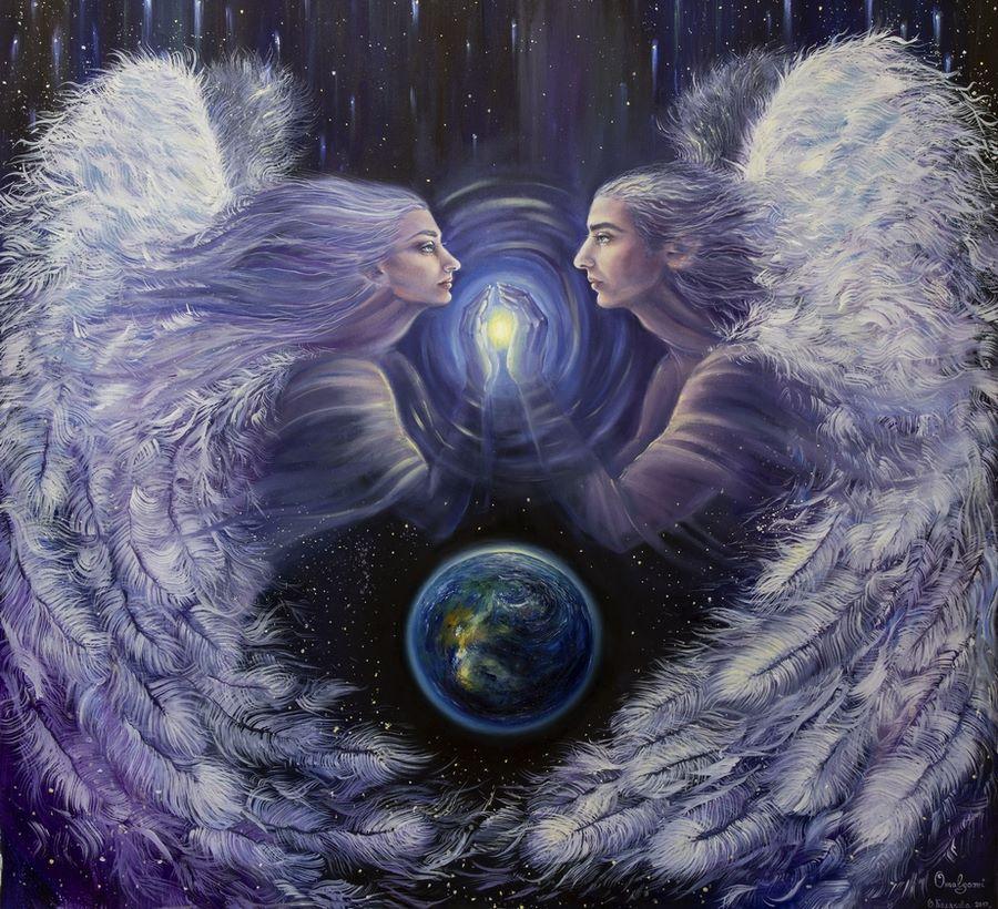 Ангелы, к которым можно прикоснуться