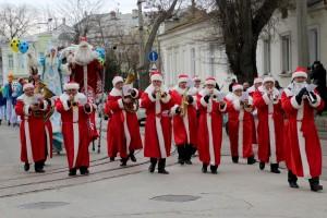 Дед Мороз и его свита