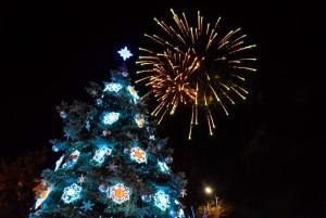Евпатория, новогодняя елка