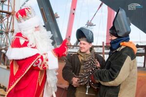 Крымский мост и Дед Мороз3