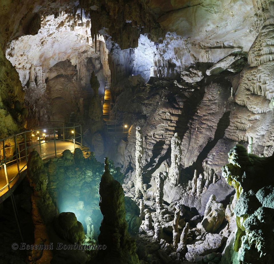 Пещеры Крыма: Эмине-Баир-Хосар