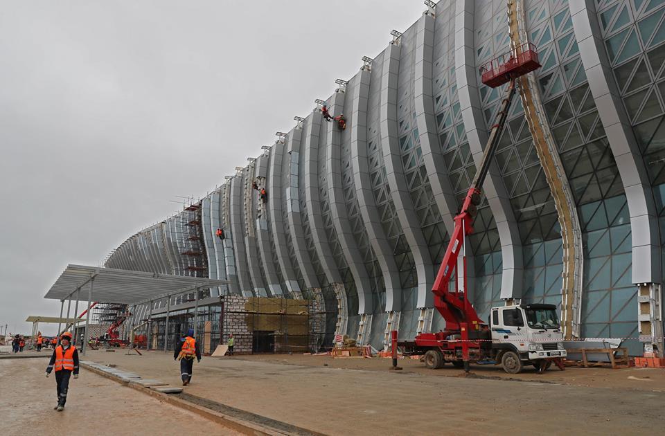 У нового терминала аэропорта «Симферополь» теперь есть адрес