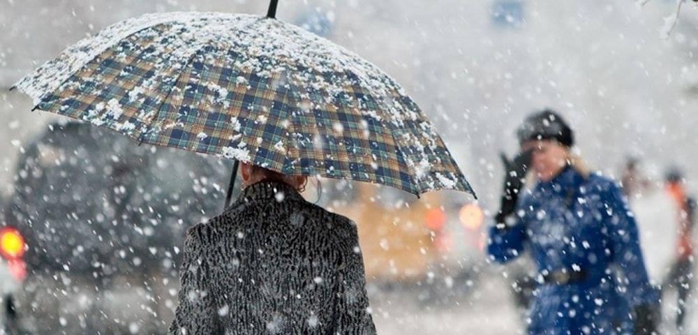 Зима в Крыму: в Севастополе — обильный снегопад, в Ялте — ледяной дождь…