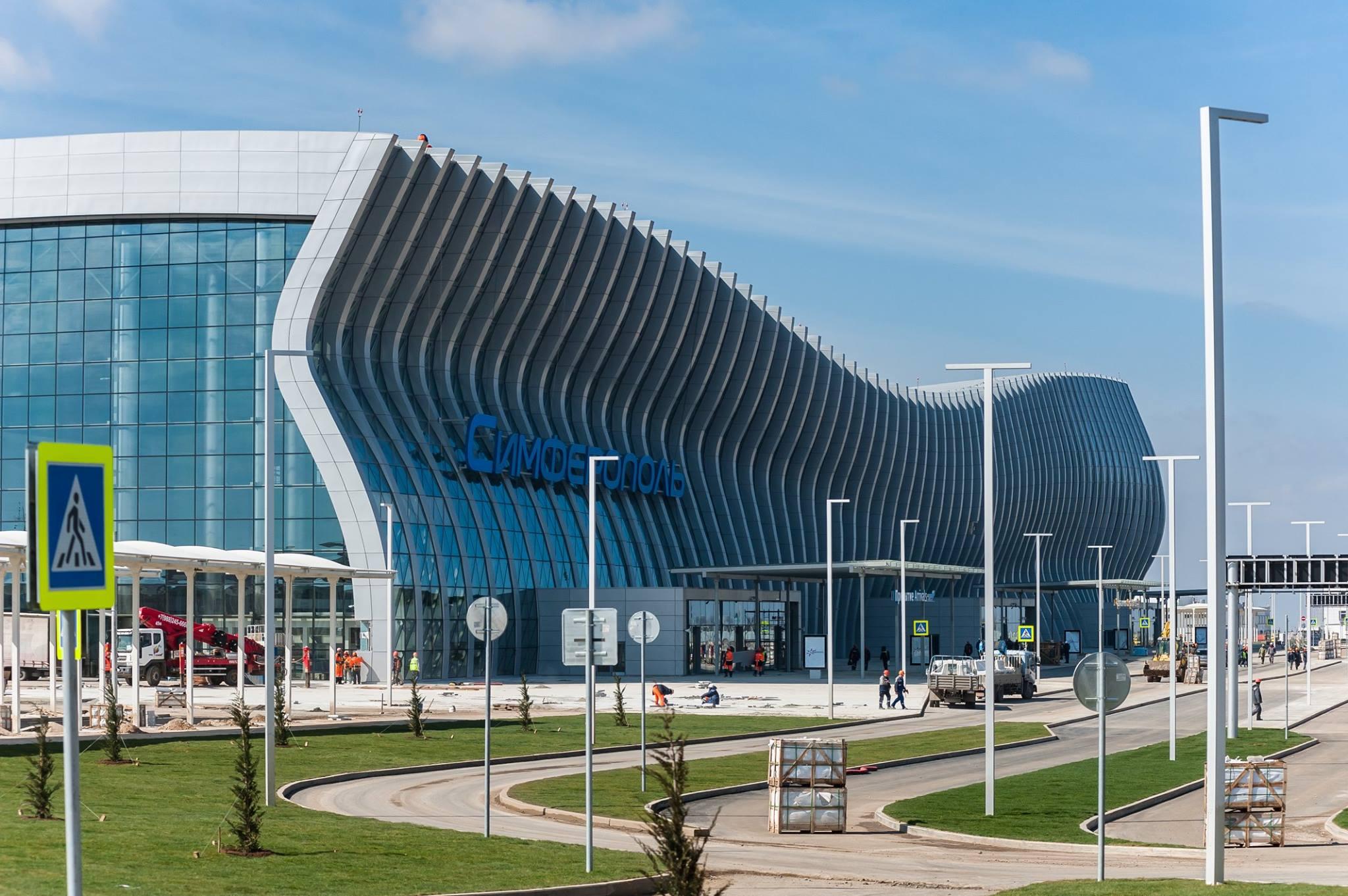 Новый терминал аэропорта «Симферополь» примет первых пассажиров 16 апреля