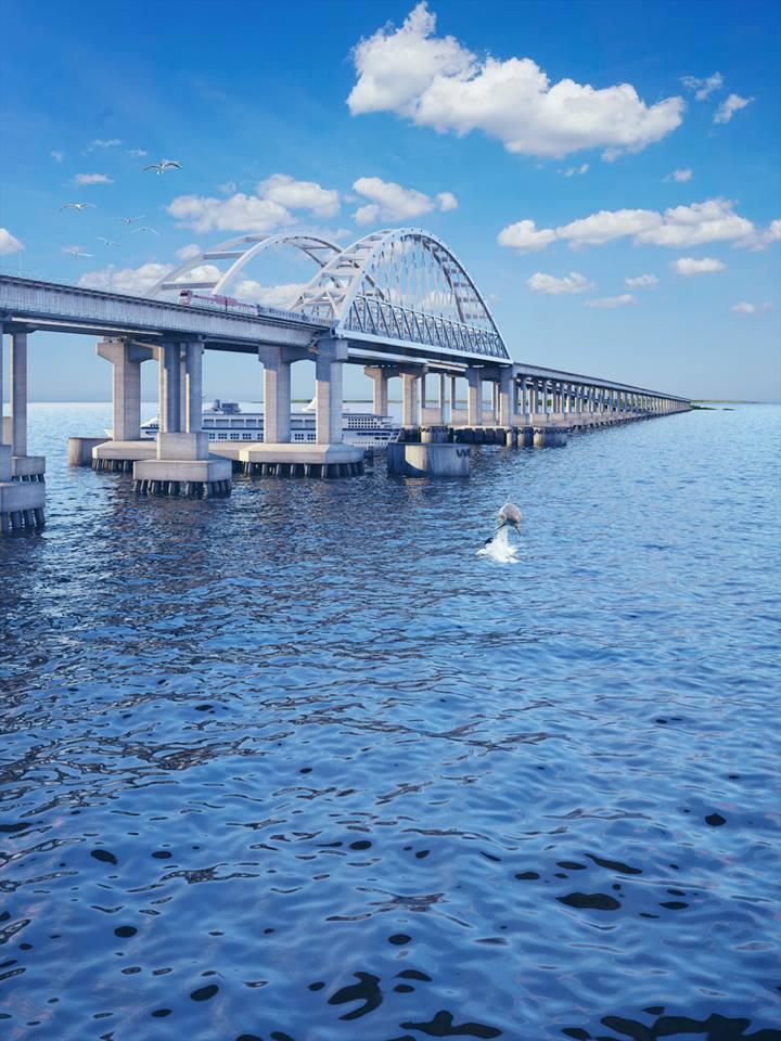 До открытия Крымского моста остались минуты…