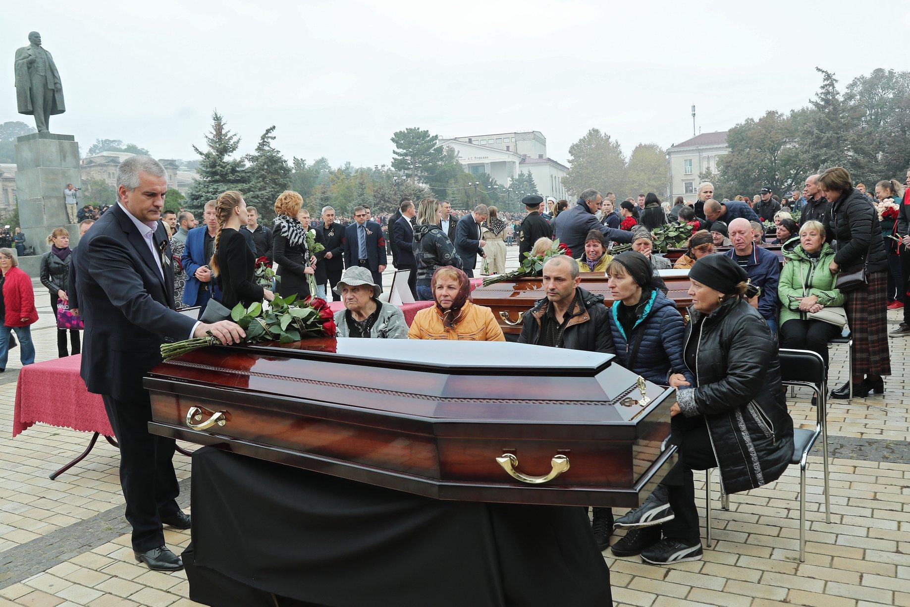 Сергей Аксенов: трагедия в Керчи стала общей болью всей страны…