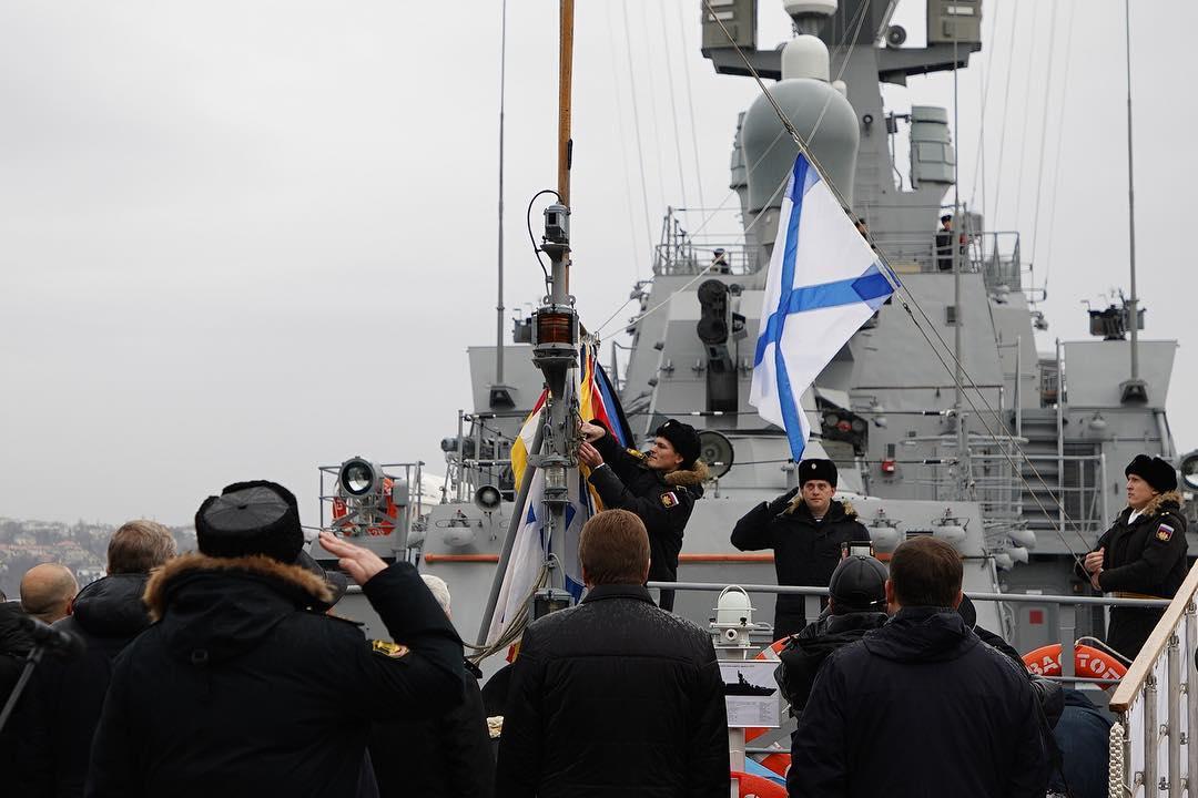 В Севастополь прибыл малый ракетный корабль «Орехово-Зуево»