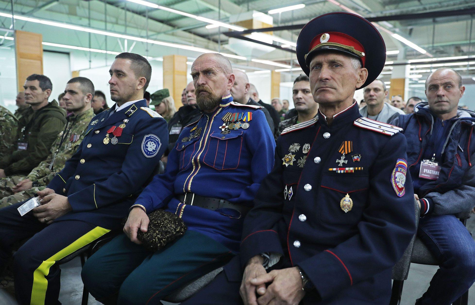 В Крыму состоялся четвёртый съезд Союза добровольцев Донбасса