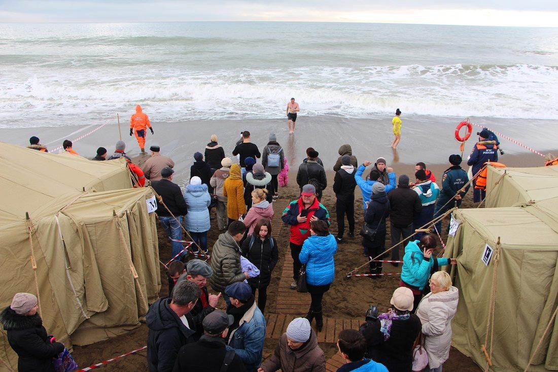 Праздник Крещения в Крыму прошёл без происшествий