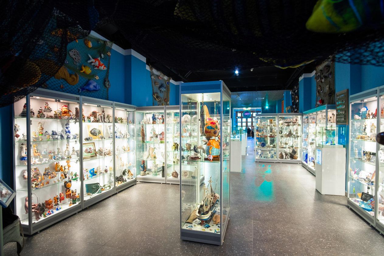 В Феодосии открыли Музей Рыбы и Рыболовства