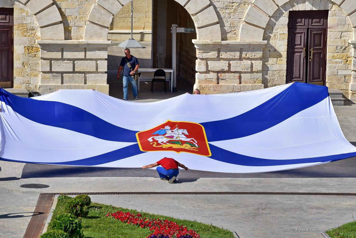 В Севастополе поднимут самый большой в мире Андреевский Георгиевский флаг