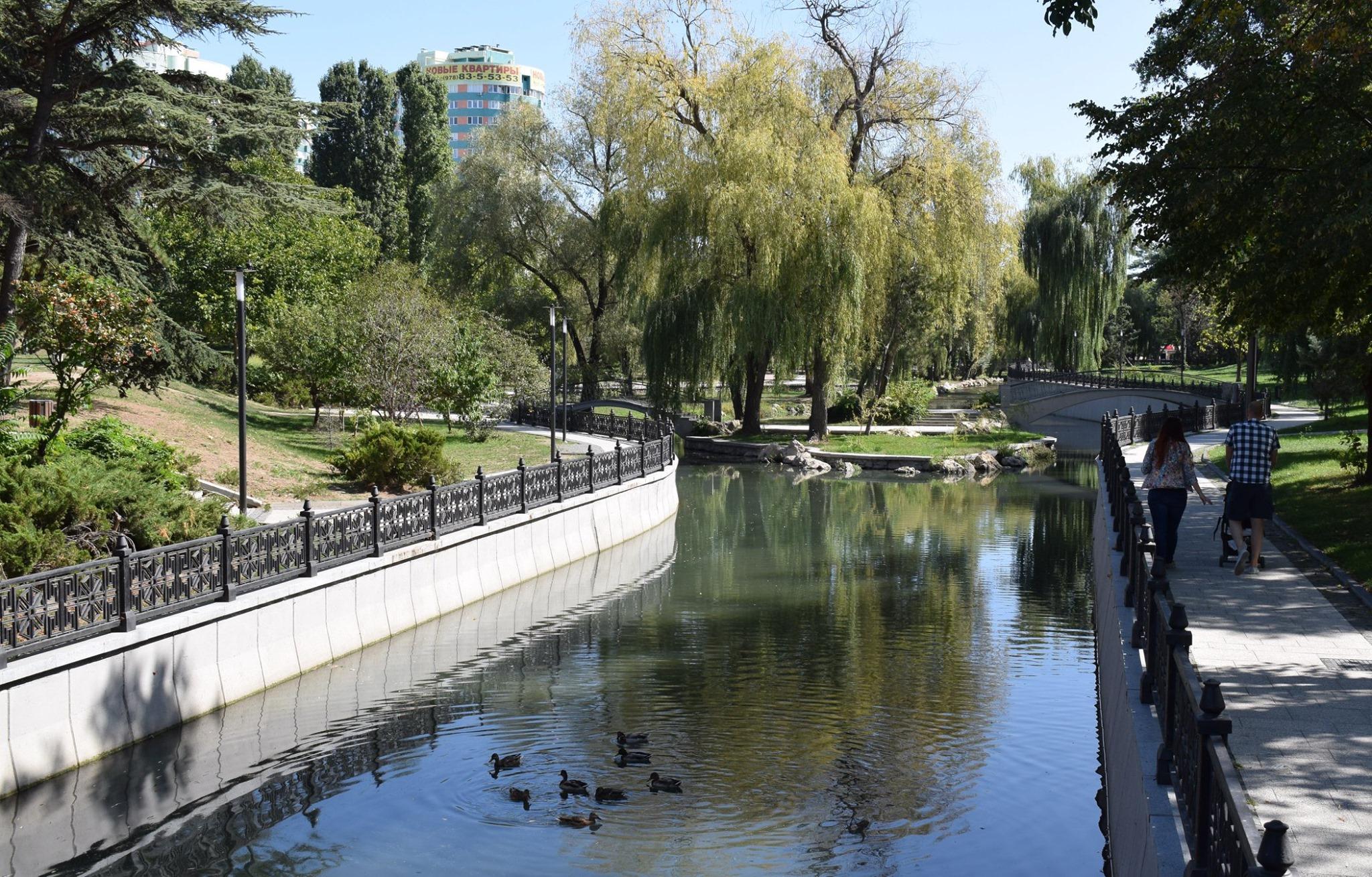 Непричесанные мысли после прогулки в Гагаринском парке Симферополя